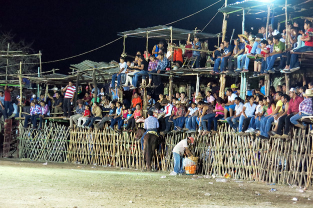 Crowd at Baca, Yucatan Fair