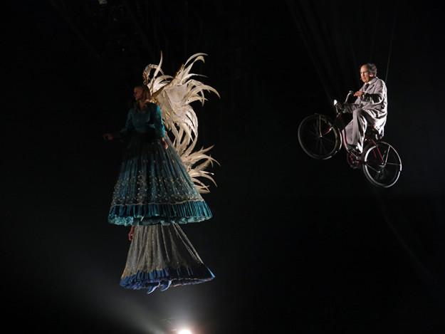 Air Bicycle at Cirque du Soleiul