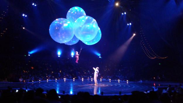 Balloons at Corteo Cirque du Soleil