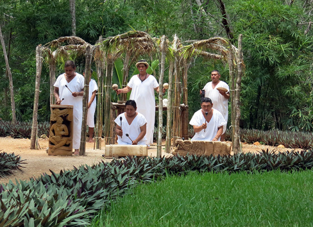 We witnessed a Cha-Chaac ceremony asking for rain for the cocoa plants. By the way, it must have worked because the next day we got dumped on!