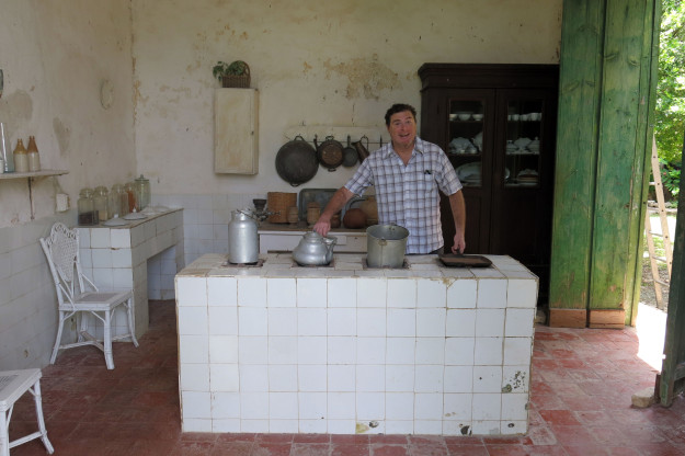 Kitchen at Hacienda Yaxcopoil