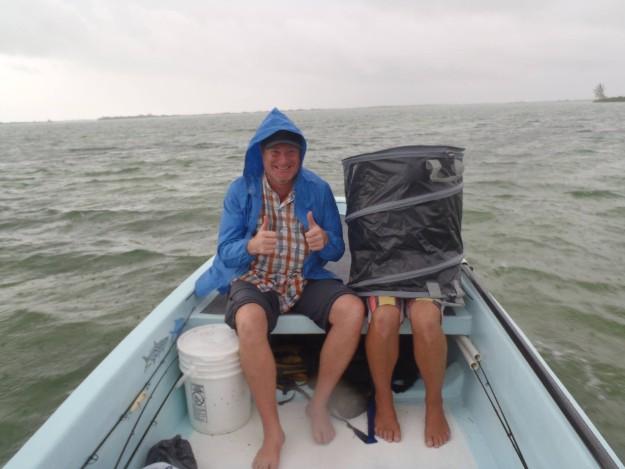 Chetumal Bay rain