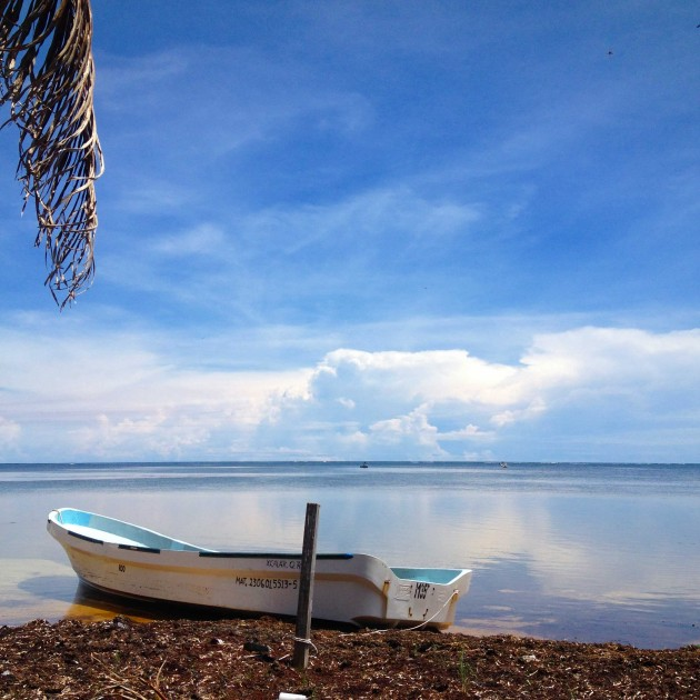 xcalak-fishing-boat