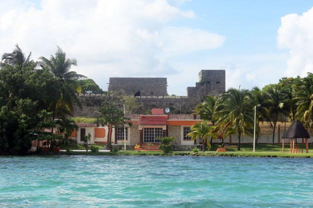 San Felipe Fort in Bacalar