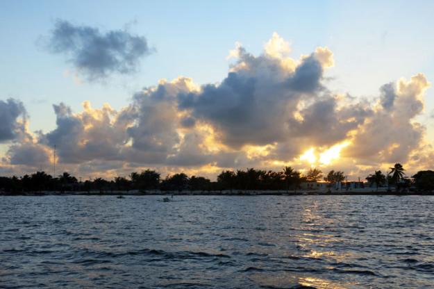 Xcalak sunset
