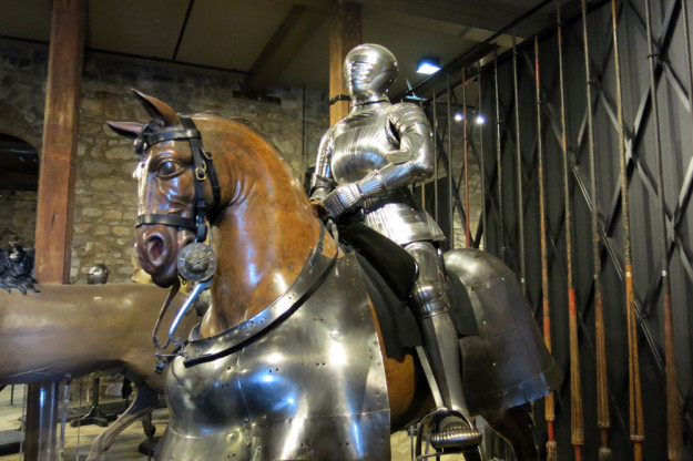Knight at Tower of London