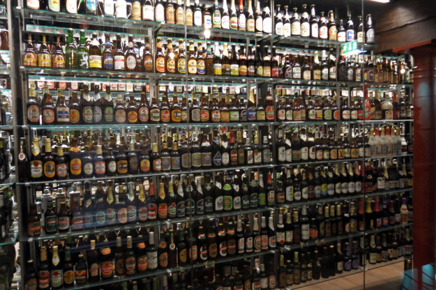 Beer Collection at Carlsberg Brewery