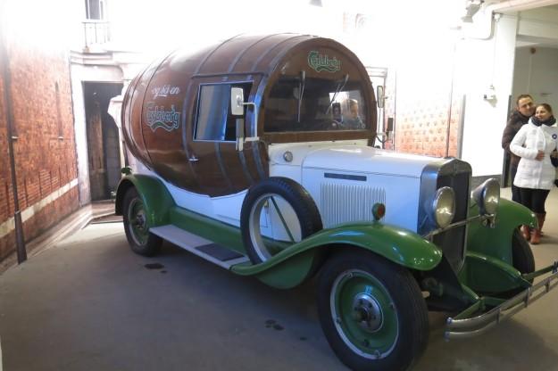 carlsberg car