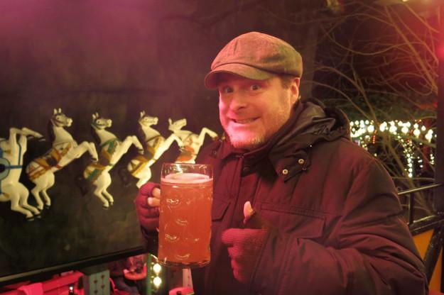 Jason and Carlsberg Beer