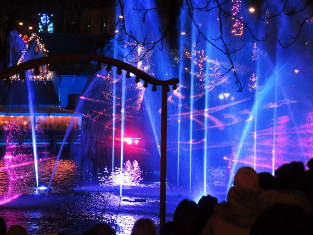 Light Show at Tivoli Gardens