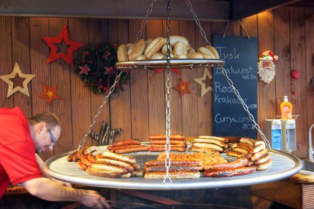 Copenhagen sausages