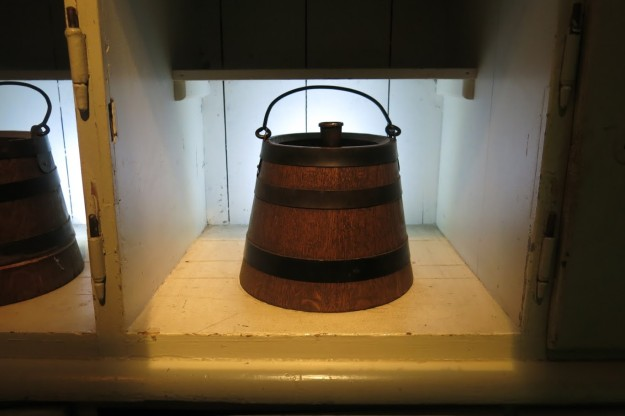 I've never drank beer out of a ration bucket like this but I'm willing to give it a try.