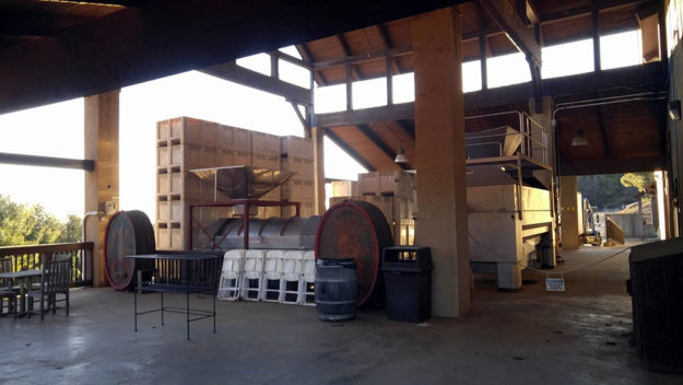 Wine making at Chateau Morrisette