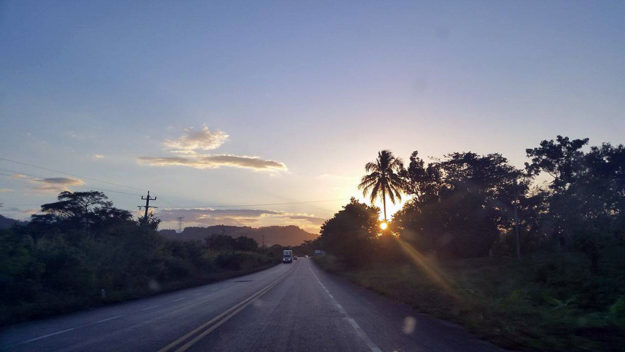 Driving in Quintana Roo