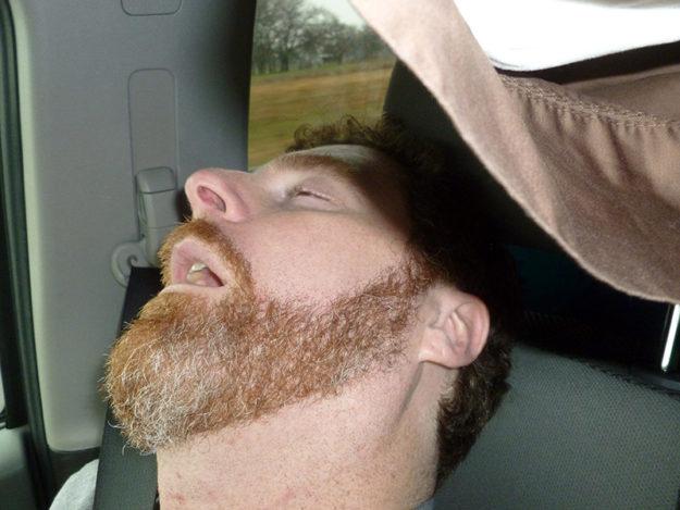 Jason sleeping