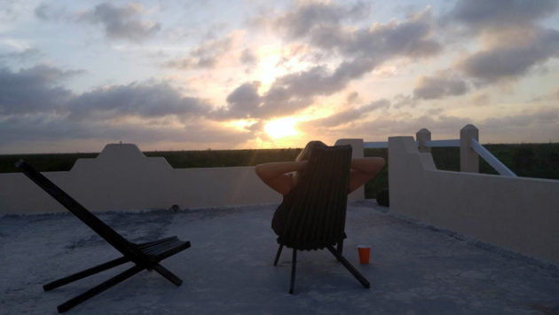 Mahahual Sunset